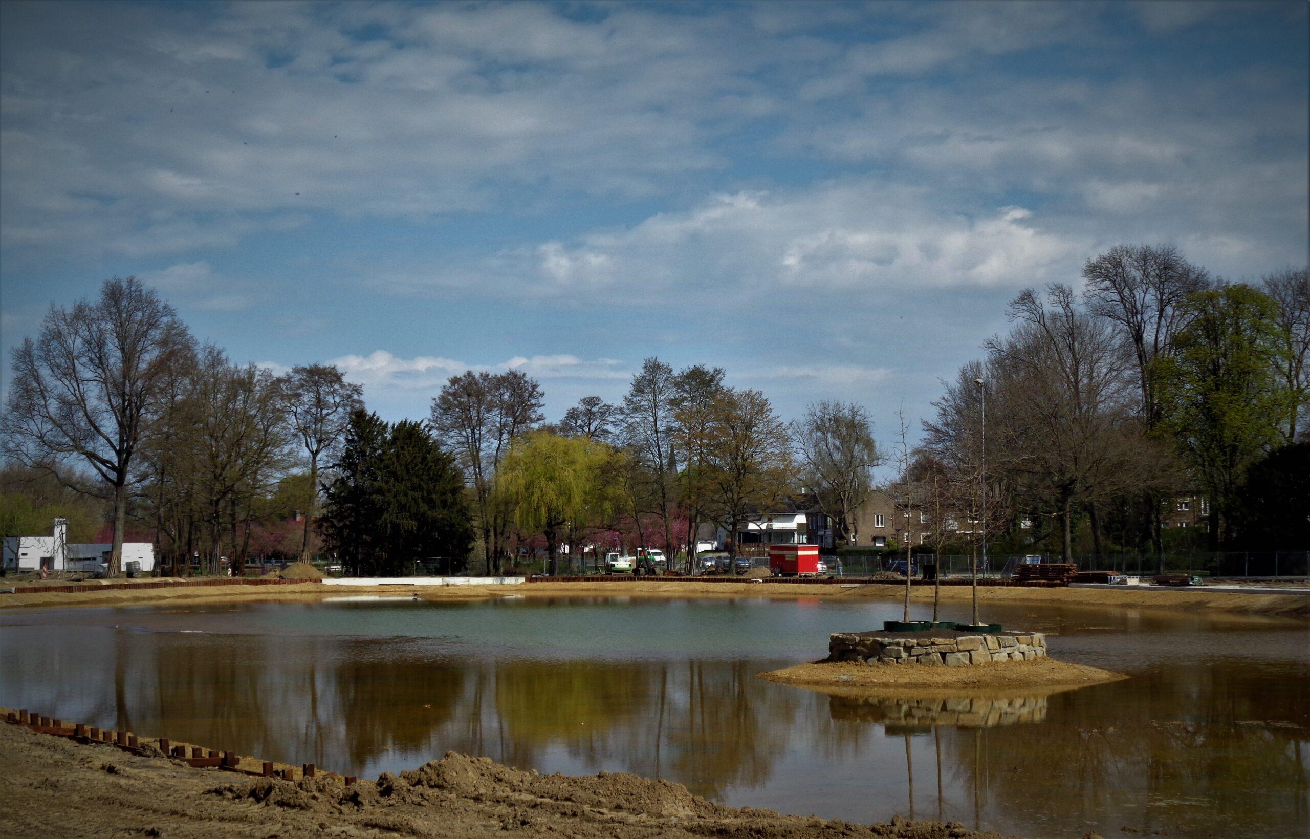 Sittard Zuid Oost werkzaamheden park