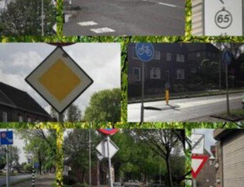 Verkeersborden Heerlenerweg en Leyenbroekerweg